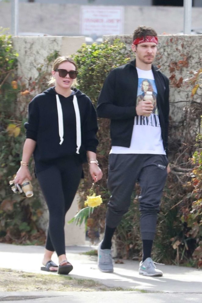 Hilary Duff and Matthew Koma – Out in Studio City