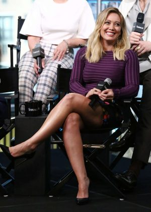 Hilary Duff - AOL Build Speaker Series Presents 'Younger' in NYC