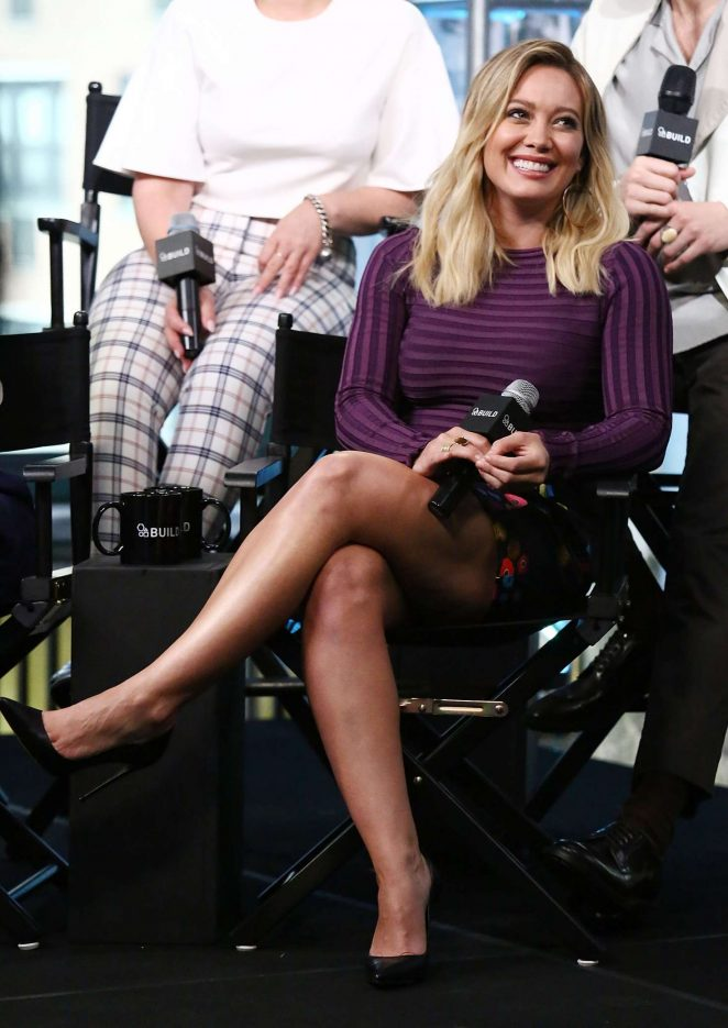 Hilary Duff – AOL Build Speaker Series Presents 'Younger' in NYC