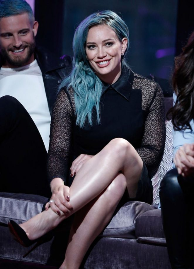 Hilary Duff - AOL BUILD Speaker Series: The Cast Of 'Younger' in NY