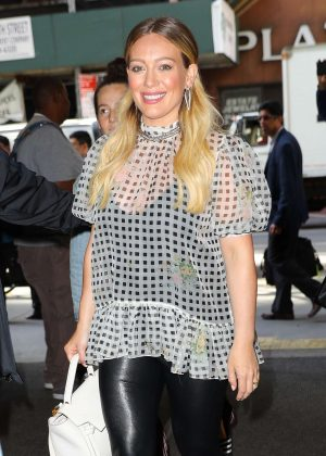 Hilary Duff - Arriving at the 'Today Show' in New York City