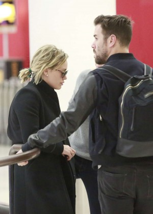 Hilary Duff at LAX in Los Angeles