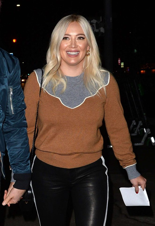 Hilary Duff at Rolling Greens in Beverly Hills