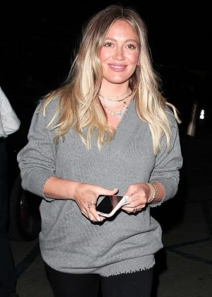 Hilary Duff at the Hollywood Bowl in LA