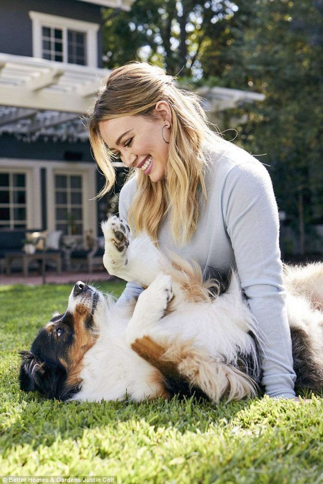 Hilary Duff - Better Home and Gardens (February 2018)