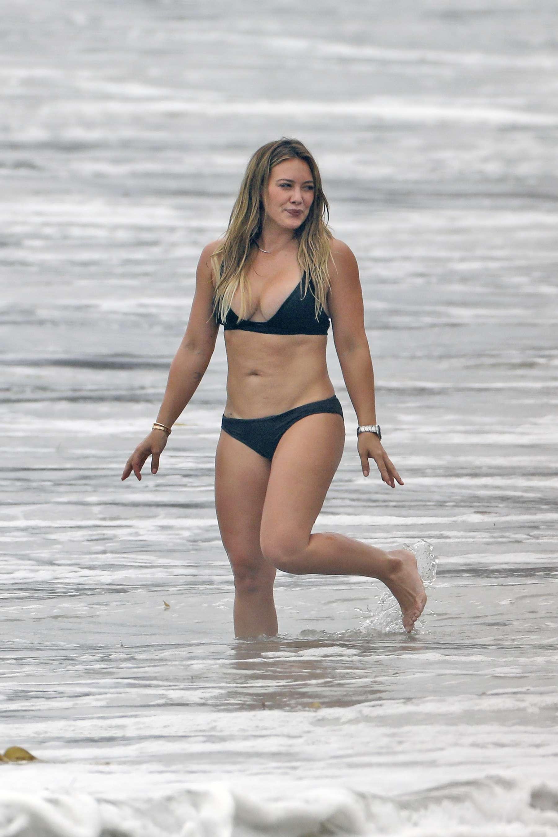 Hilary Duff Bikini At A Beach In Malibu 2017 13 Gotceleb