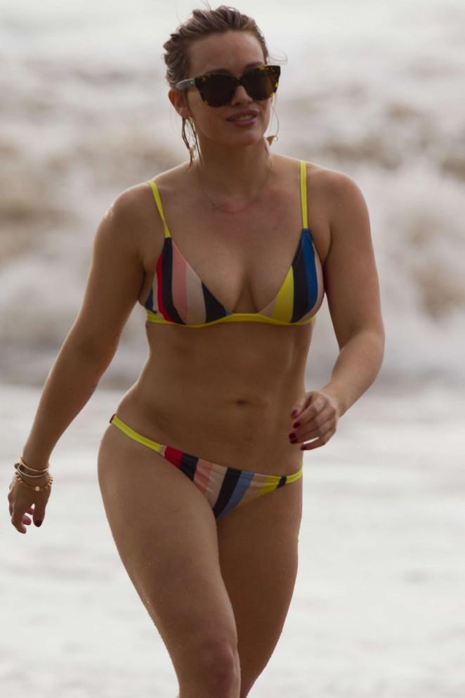 Fotos de Hilary Duff desnuda en Bikini - Fotos y Vdeos