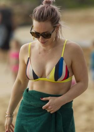 Hilary Duff in Bikini -26