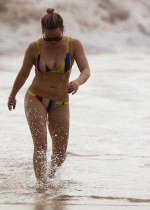 Hilary Duff in Bikini -36
