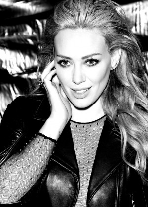 Hilary Duff - 'Breathe in. Breathe Out' Album Photoshoot