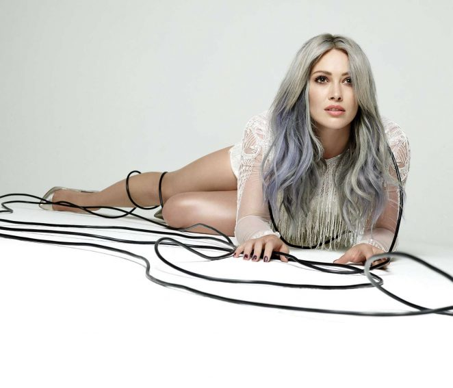 Hilary Duff by Ben Cope Breathe In Breathe Out Album Shoot