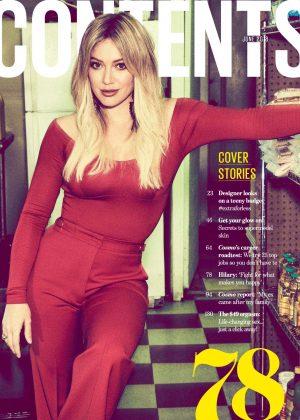 Hilary Duff - Cosmopolitan Australia Magazine (June 2018)