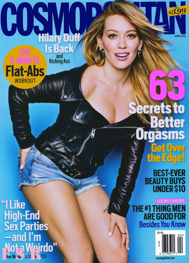 Hilary Duff - Cosmopolitan Magazine (April 2015)