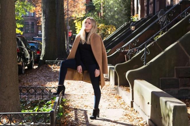 Hilary Duff - Elle Photoshoot January 2015