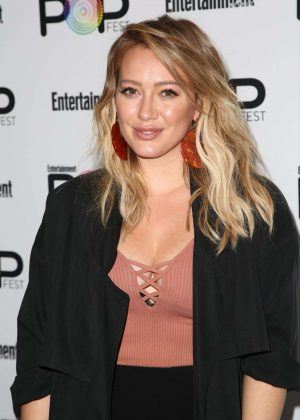 Hilary Duff - Entertainment Weekly PopFest in Los Angeles  Hilary Duff