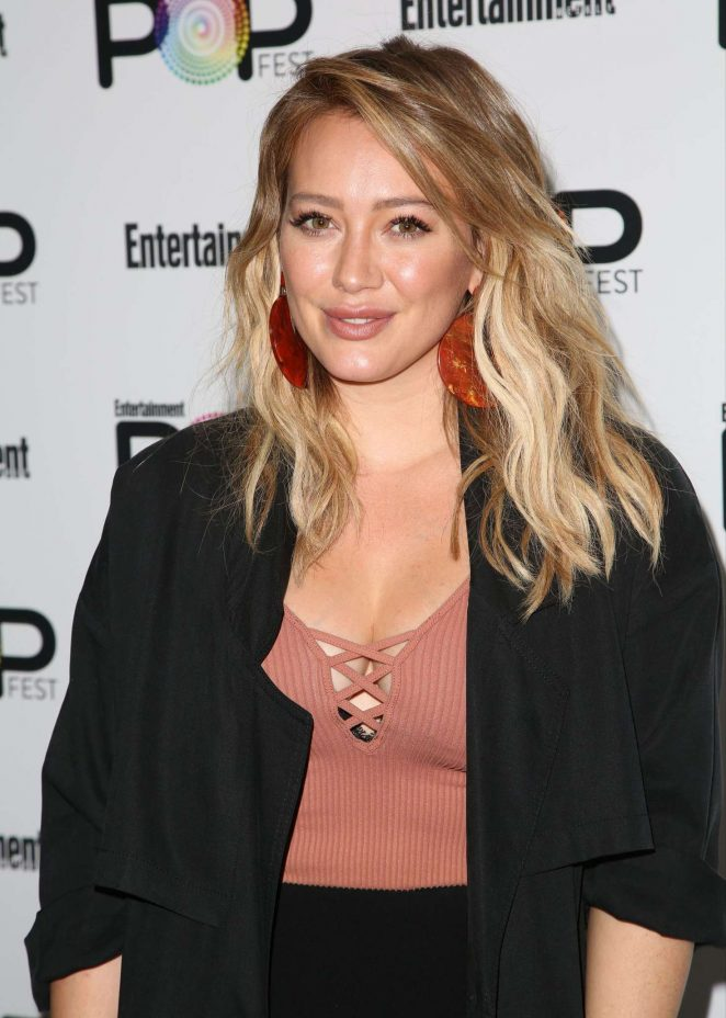 Hilary Duff – Entertainment Weekly PopFest in Los Angeles