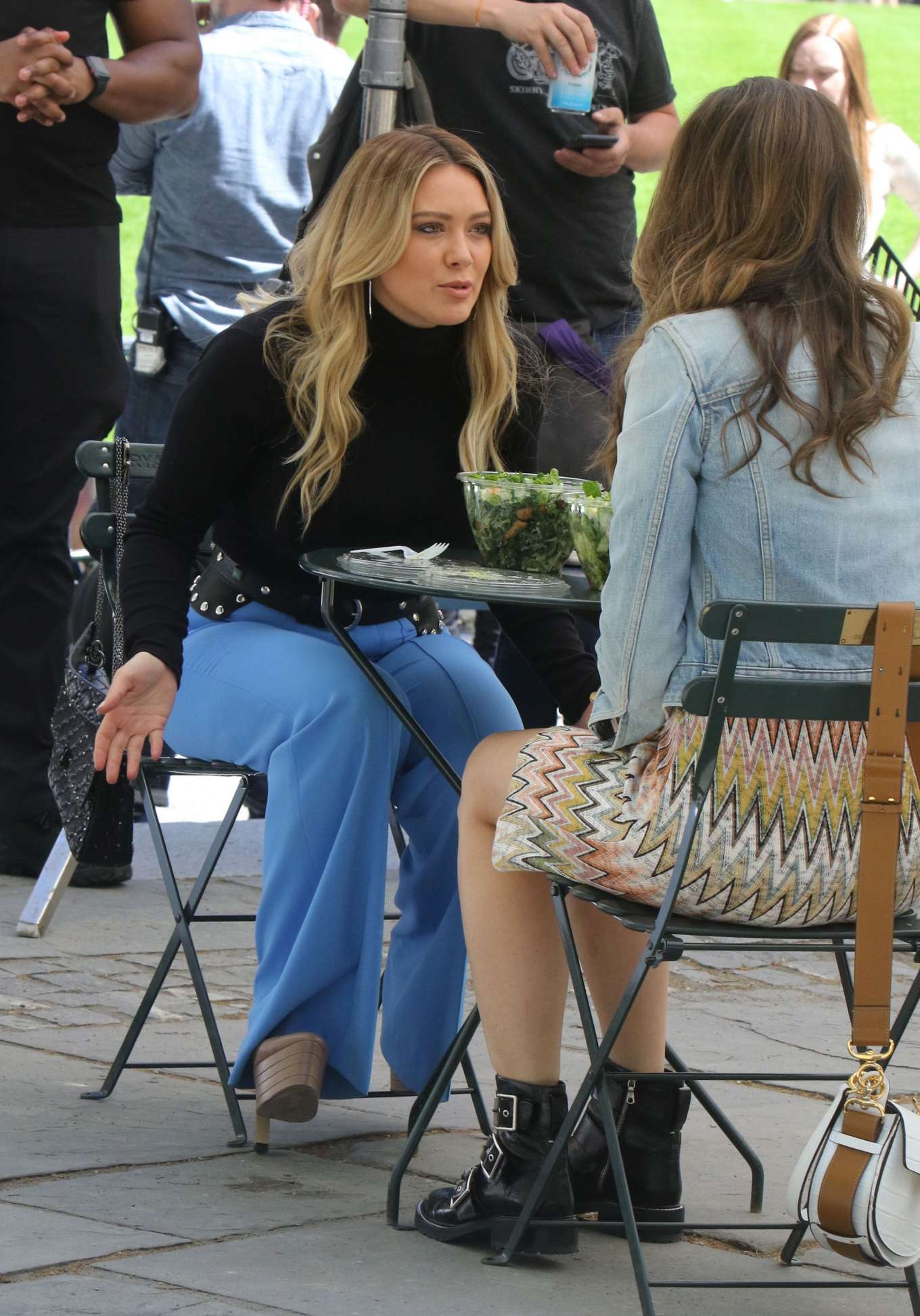 Hilary Duff 2019 : Hilary Duff: Filming Younger in NYC -07