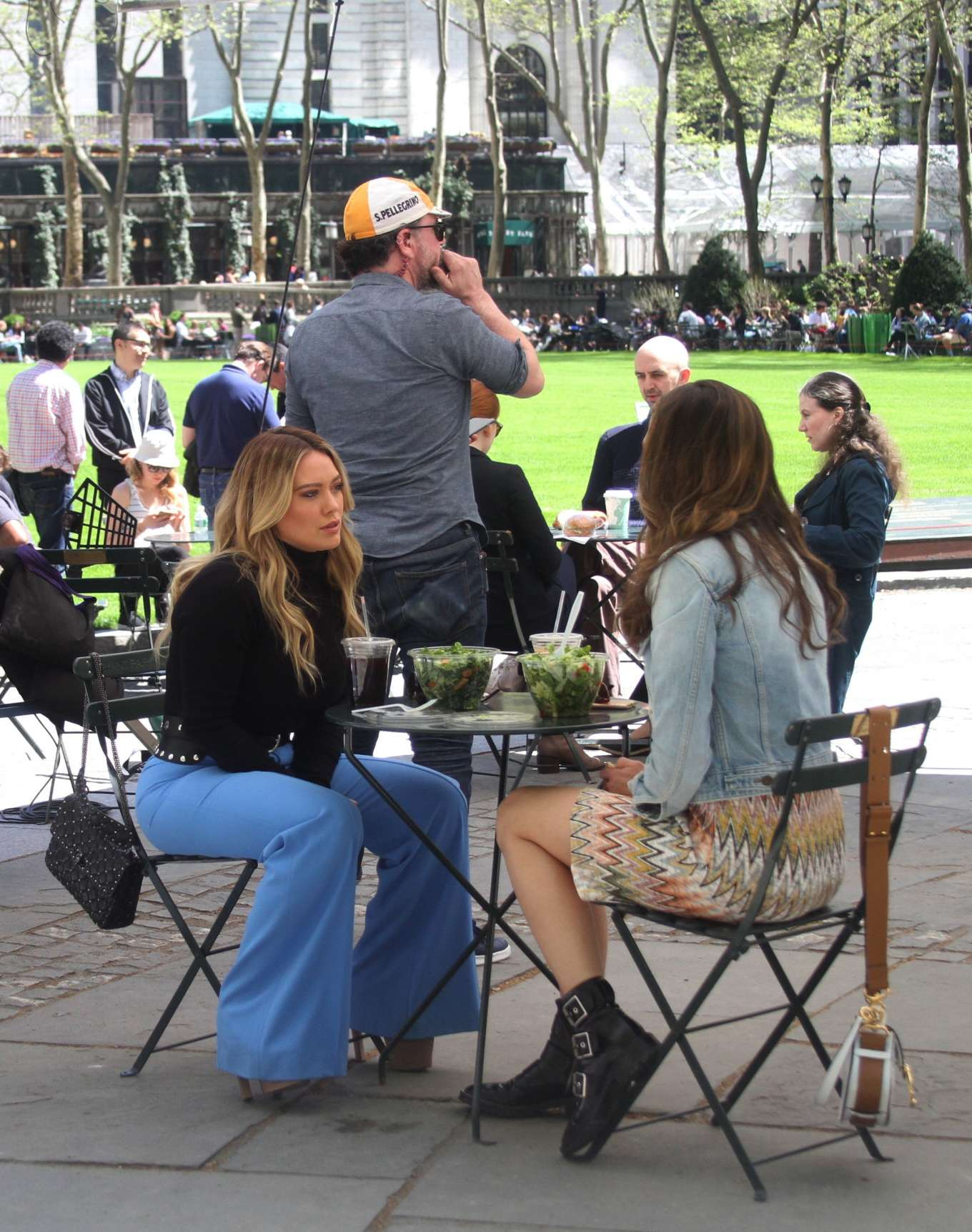 Hilary Duff 2019 : Hilary Duff: Filming Younger in NYC -19