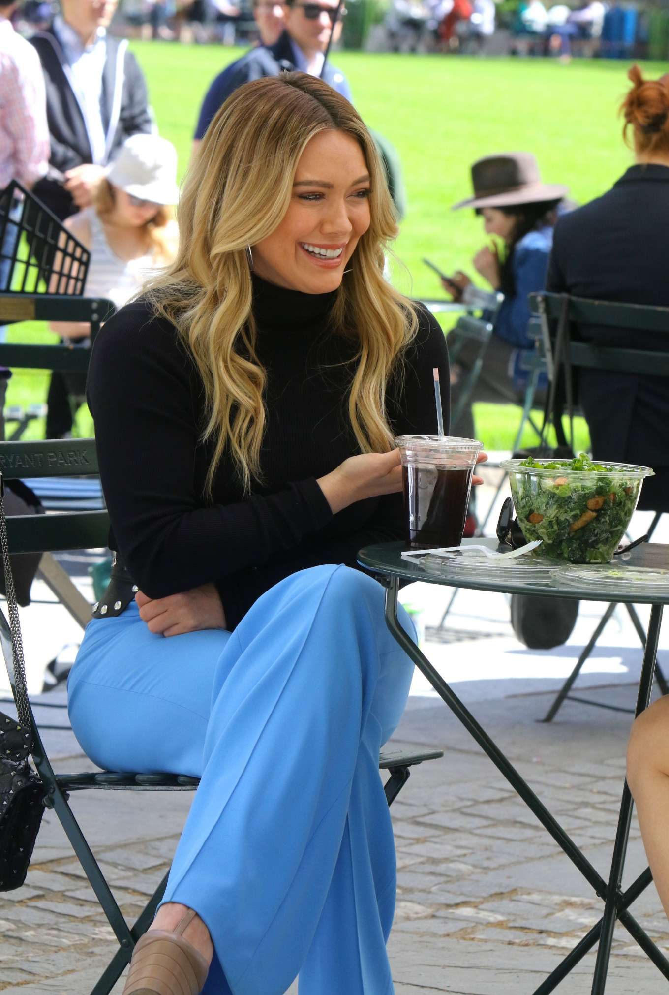 Hilary Duff 2019 : Hilary Duff: Filming Younger in NYC -25