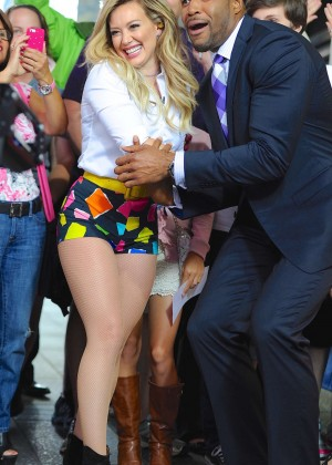Hilary Duff in Tiny Shorts -02