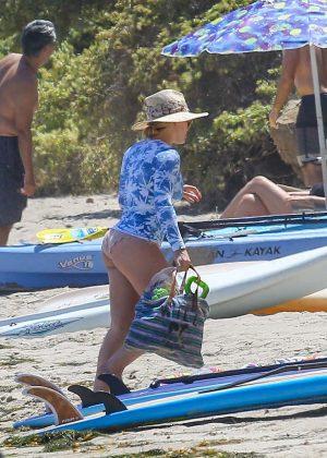 Hilary Duff in Bikini Bottoms 2016 -06
