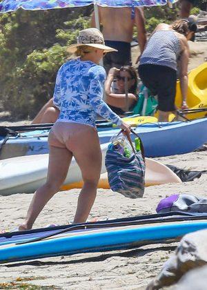 Hilary Duff in Bikini Bottoms 2016 -07