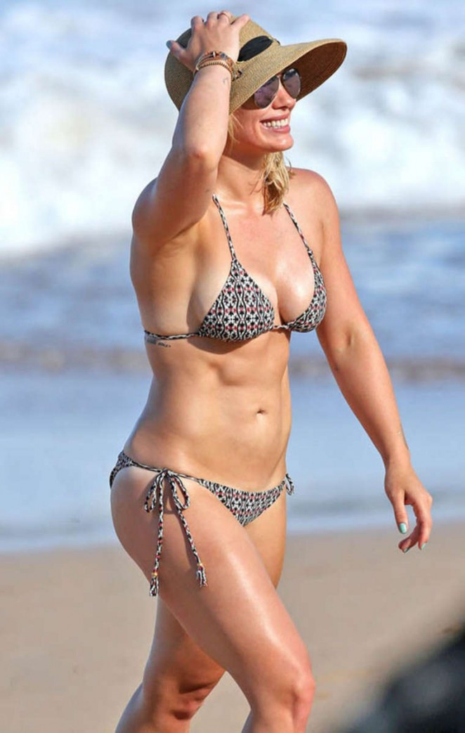 Hilary Duff in Bikini in Hawaii