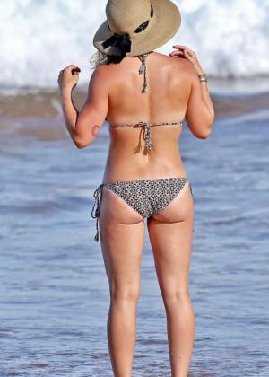 Hilary Duff in Bikini -02
