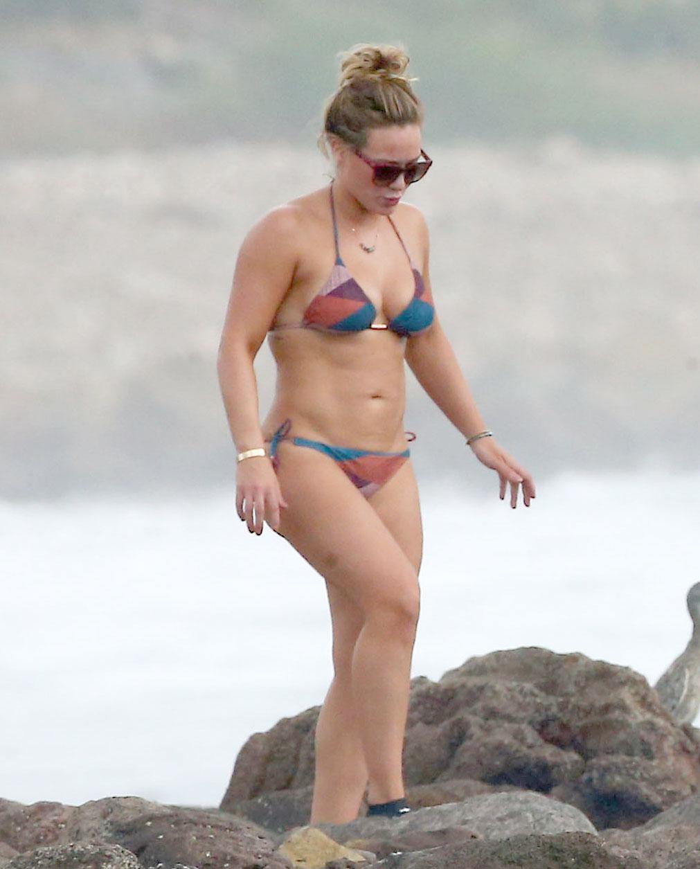Duff en bikini