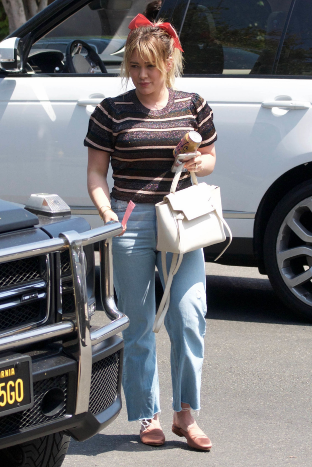 Hilary Duff in Jeans: Out in Los Angeles-02