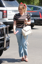 Hilary Duff in Jeans - Out in Los Angeles