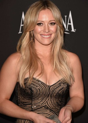Hilary Duff - InStyle And Warner Bros Golden Globes Party 2015 in Beverly Hills