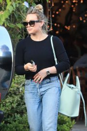 Hilary Duff - Leaves Il Pastaio in Beverly Hills