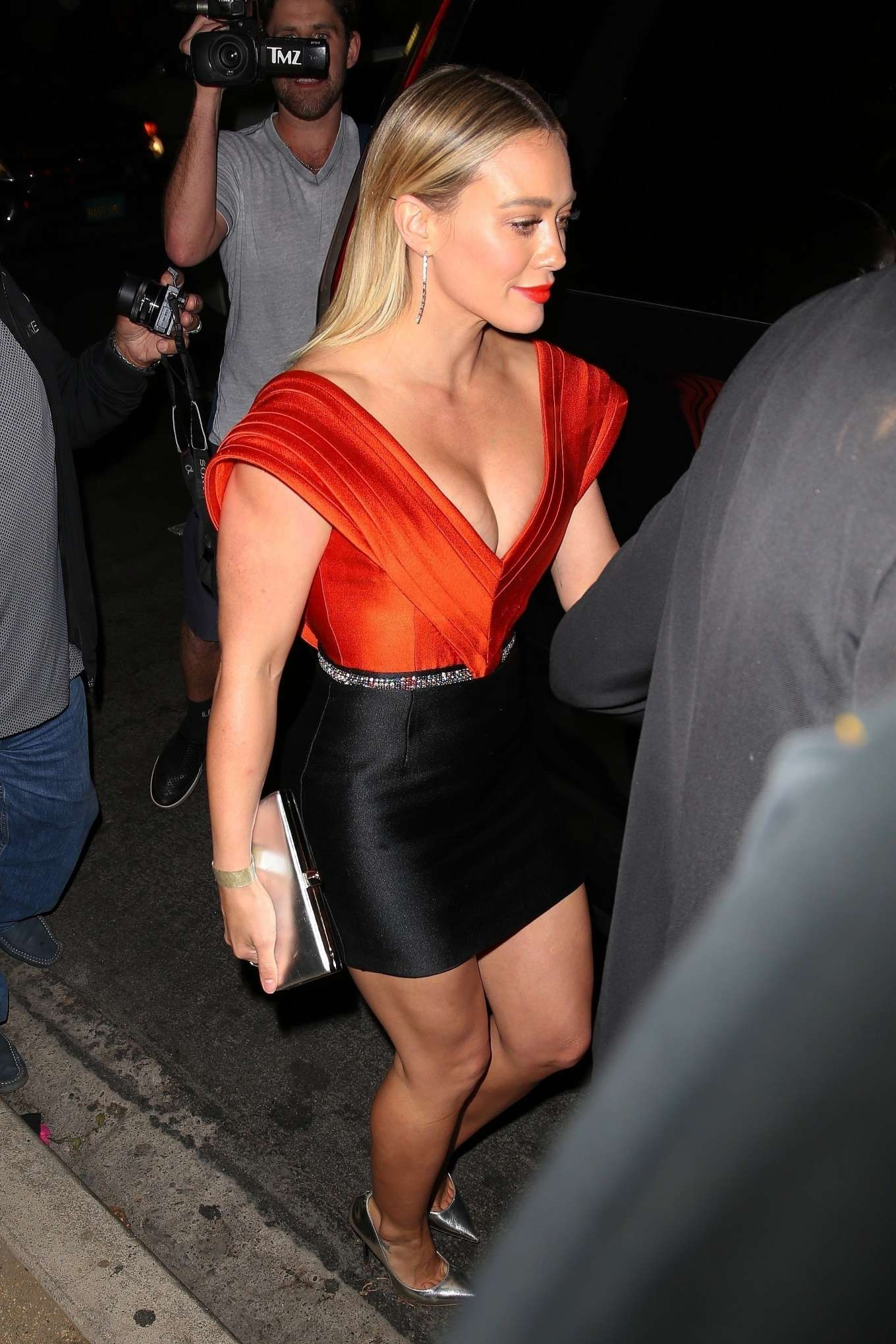 Hilary Duff - Leaves the 5th Annual Baby Ball in Hollywood