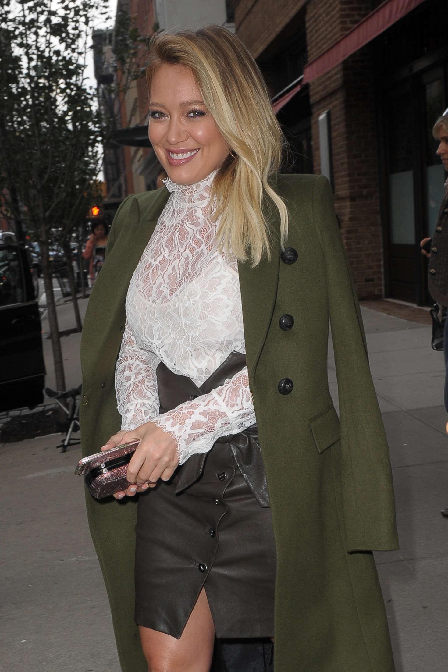 Hilary Duff 2016 : Hilary Duff: Leaving her Tribeca Hotel in New York -14
