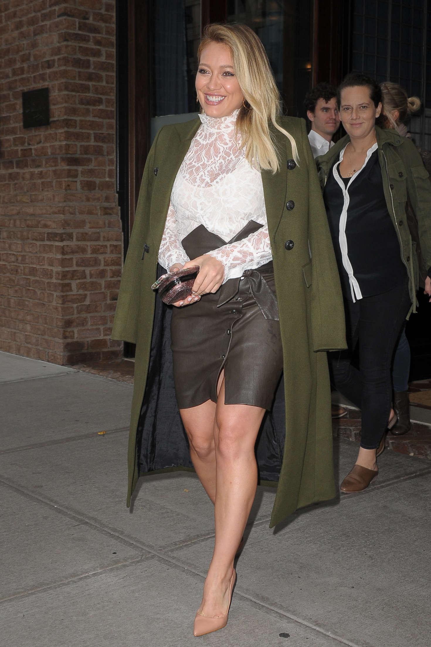 Hilary Duff 2016 : Hilary Duff: Leaving her Tribeca Hotel in New York -21