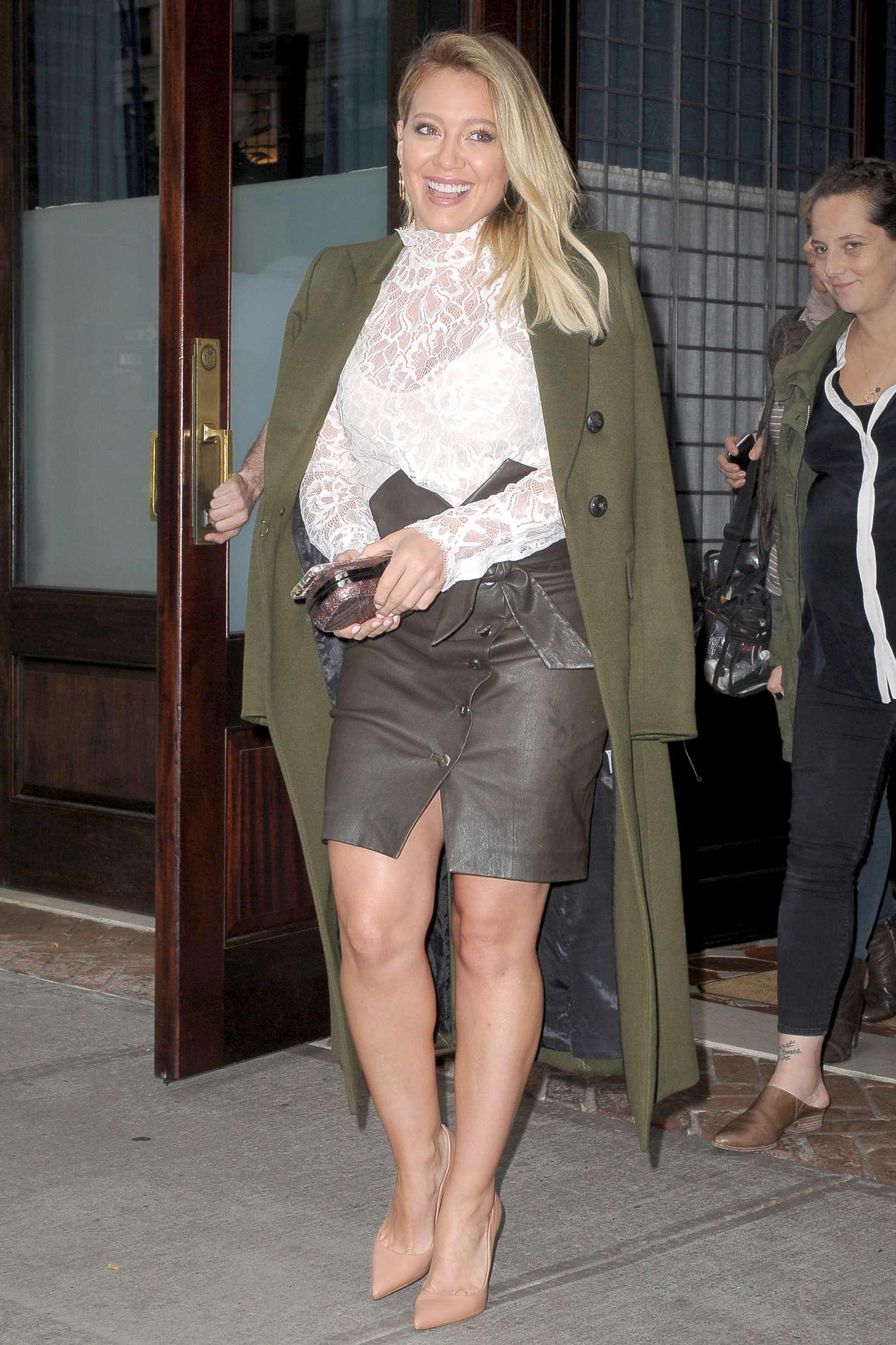 Hilary Duff 2016 : Hilary Duff: Leaving her Tribeca Hotel in New York -22
