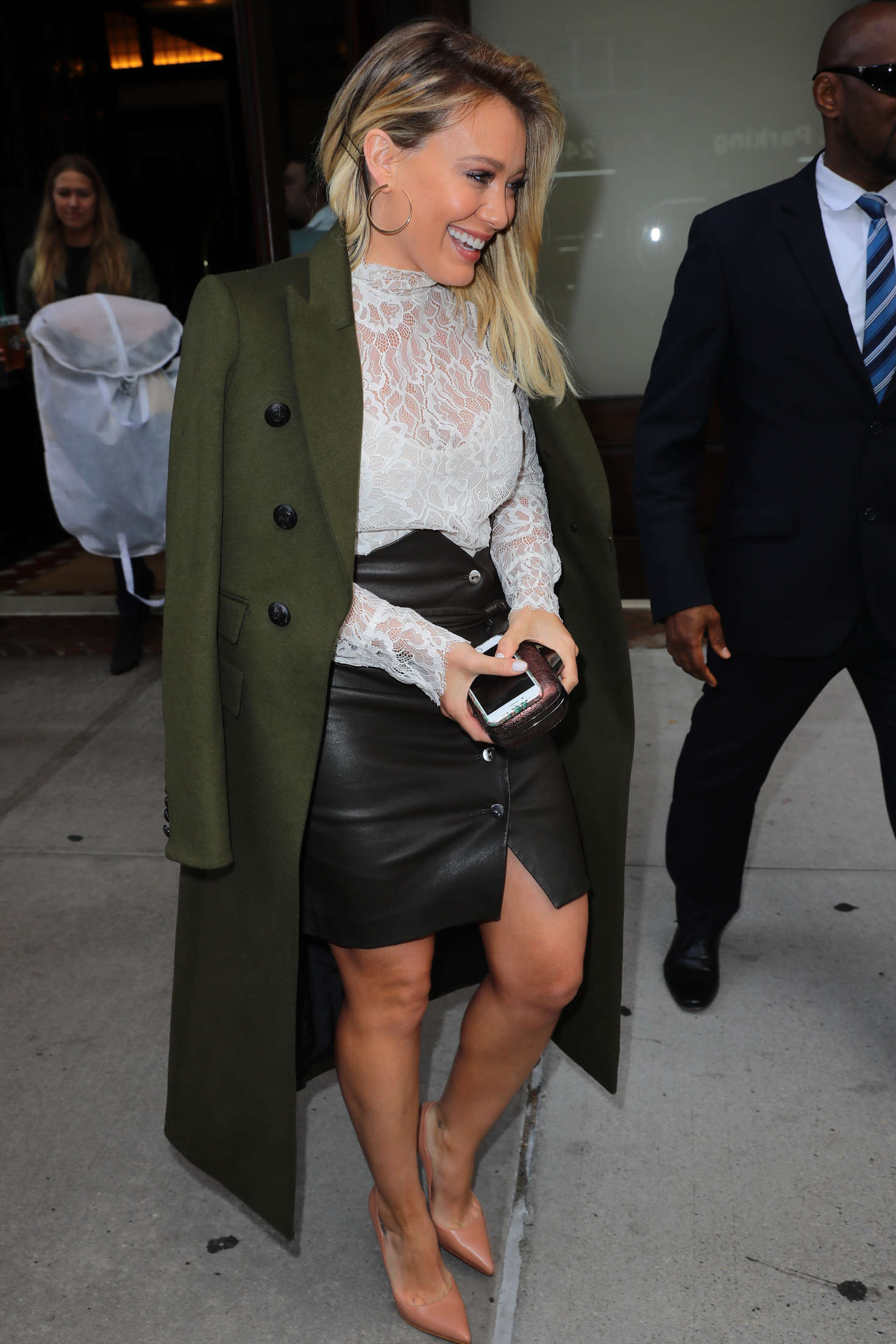 Hilary Duff 2016 : Hilary Duff: Leaving her Tribeca Hotel in New York -24
