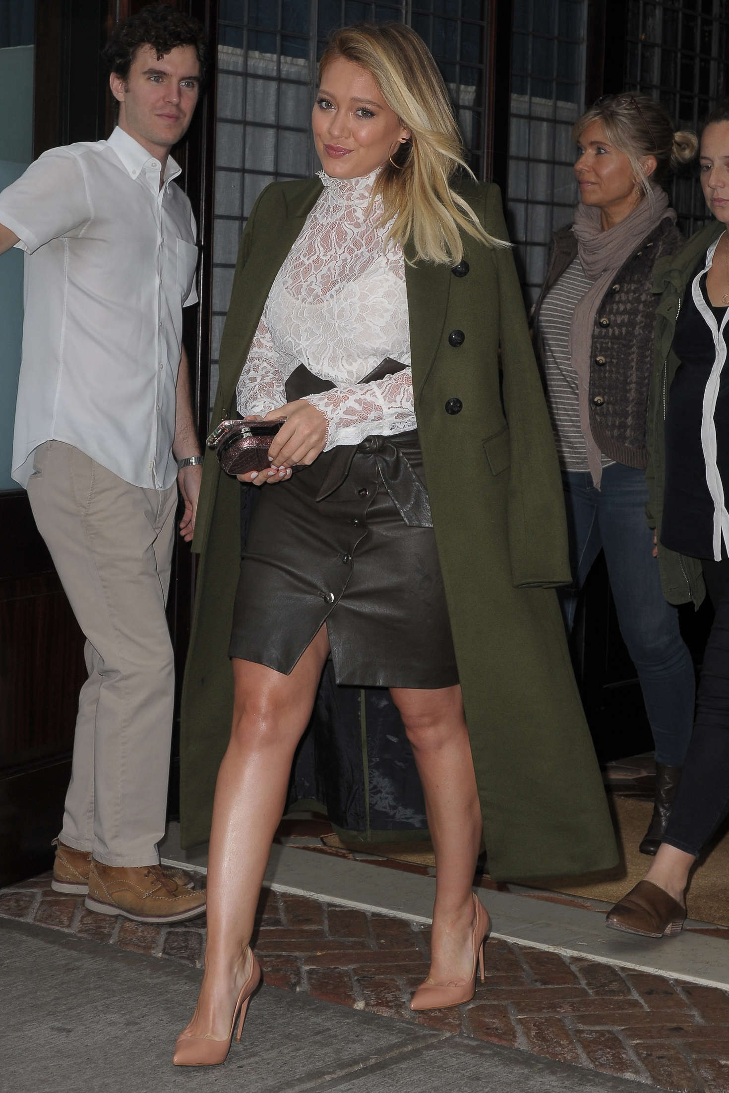 Hilary Duff 2016 : Hilary Duff: Leaving her Tribeca Hotel in New York -25