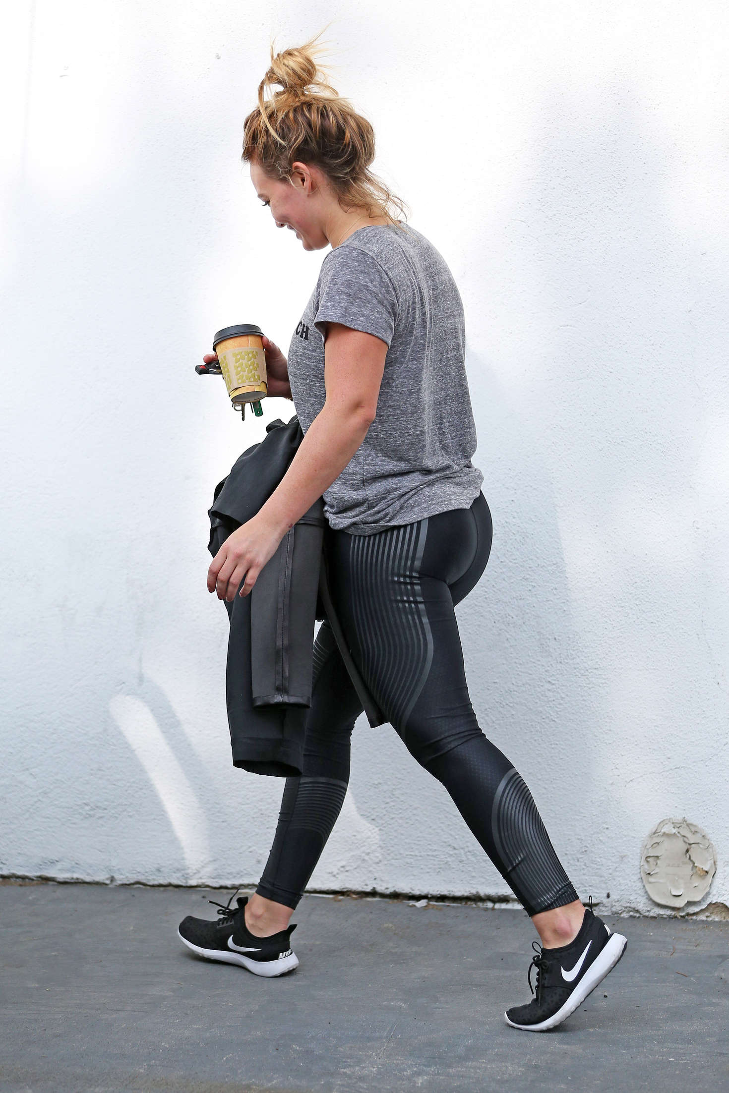 Hilary Duff - Leaving the Gym in West Hollywood