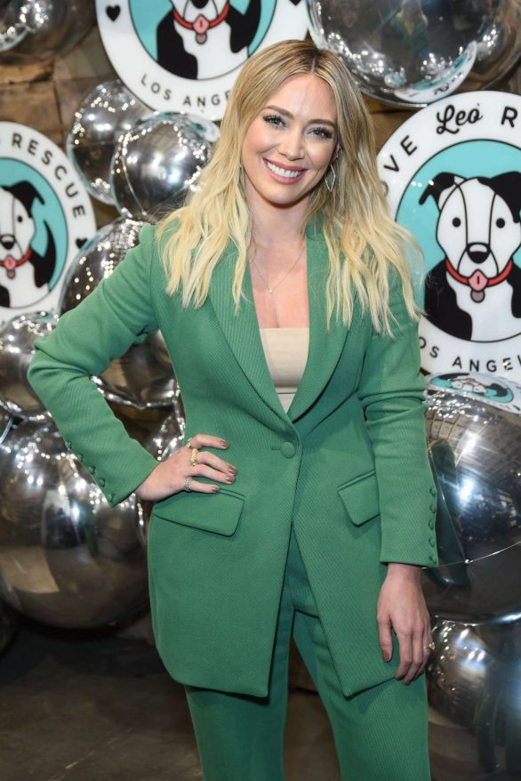 Hilary Duff - Love Leo Rescue's 2nd Annual Cocktails For A Cause in Los Angeles
