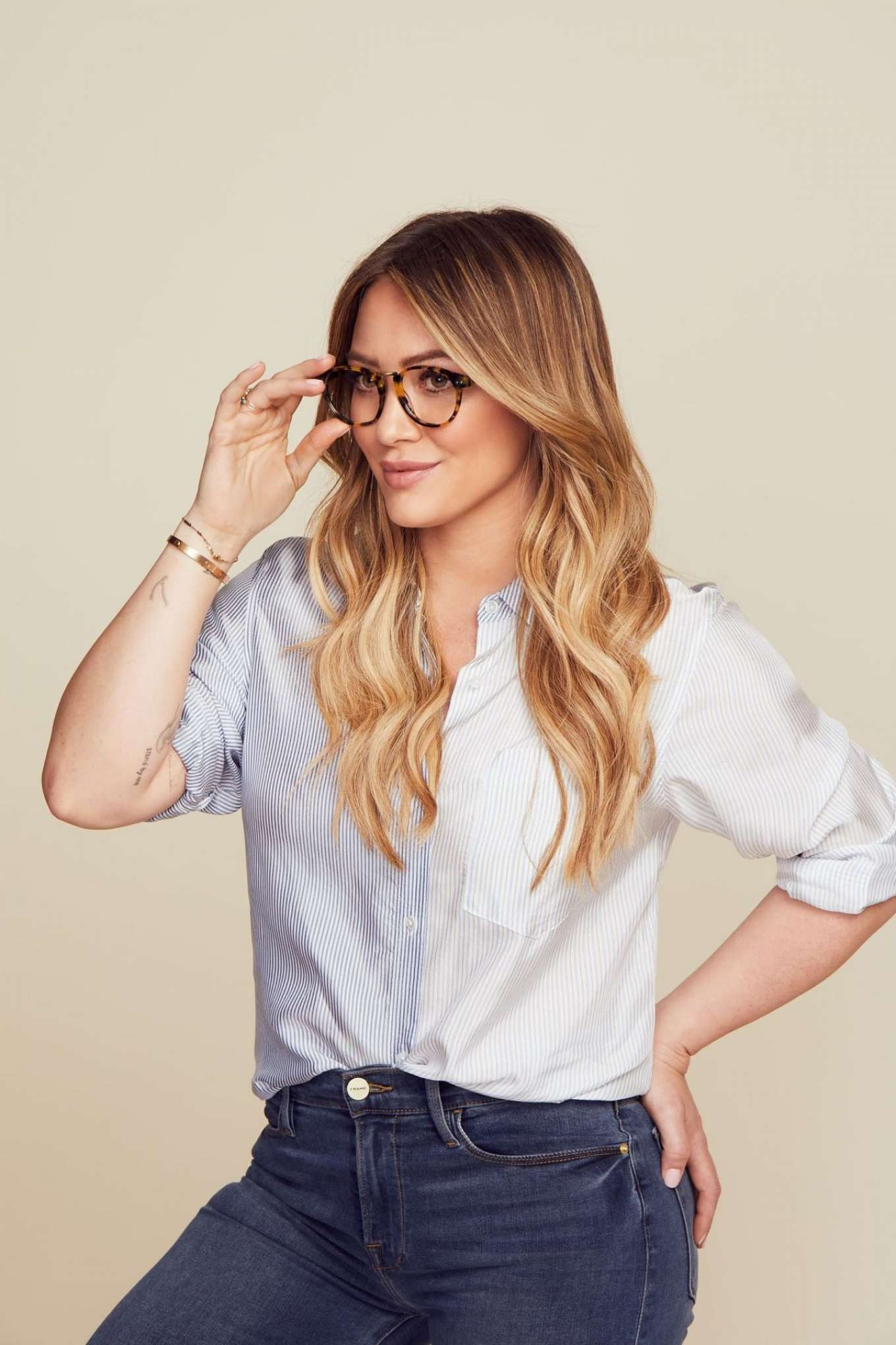 Hilary Duff - 'Muse x Hilary Duff' Eyewear Collection (November 2019)