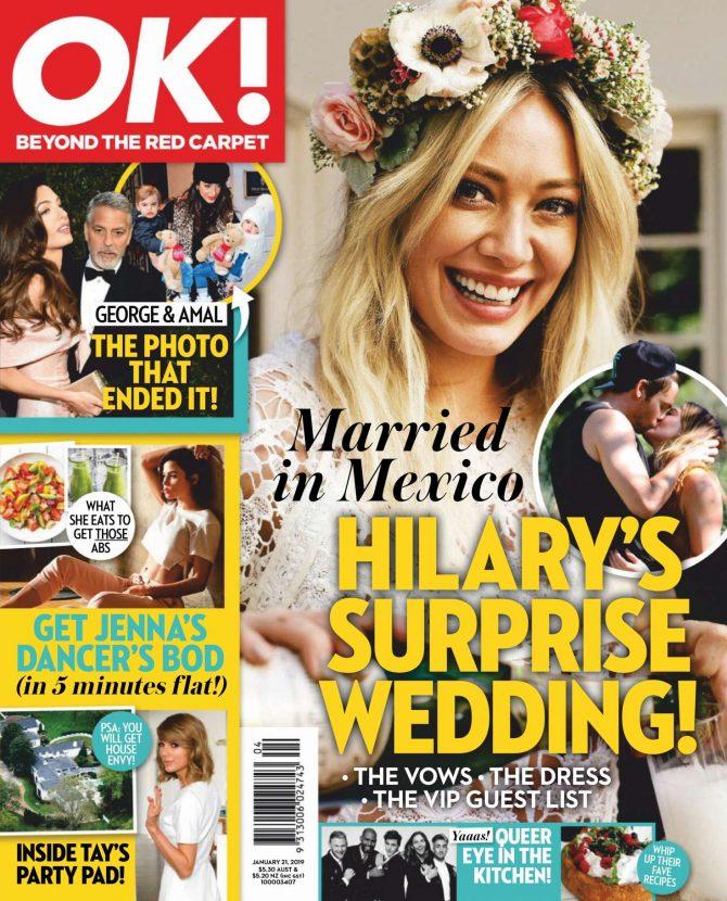 Hilary Duff: OK! Australia Magazine 2019 -03