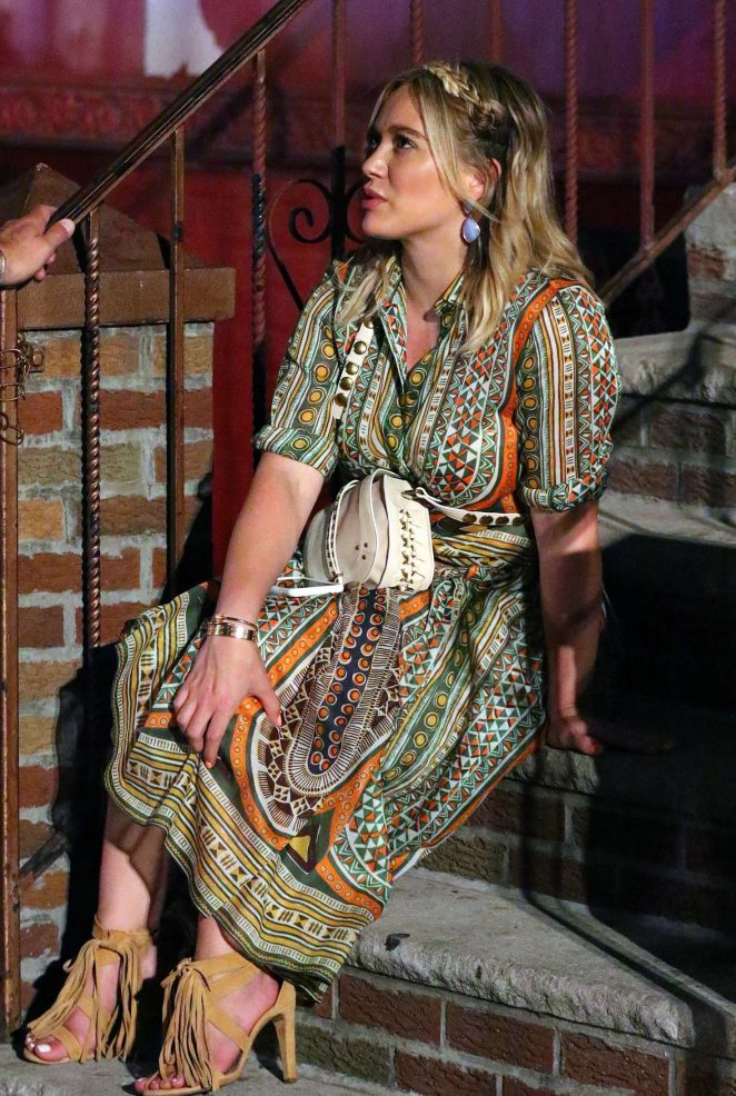 Hilary Duff: On the Set of Younger -06