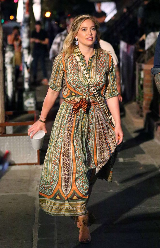 Hilary Duff: On the Set of Younger -19