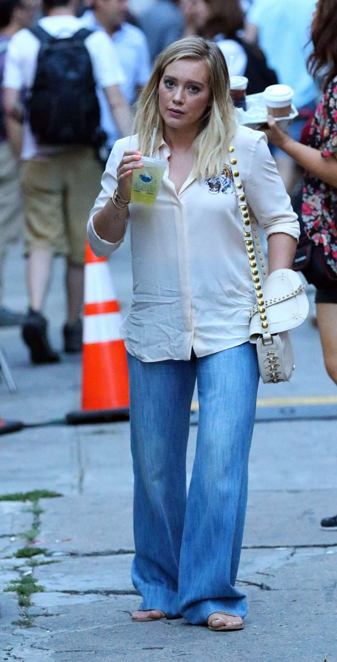 Hilary Duff: On the Set of Younger -20