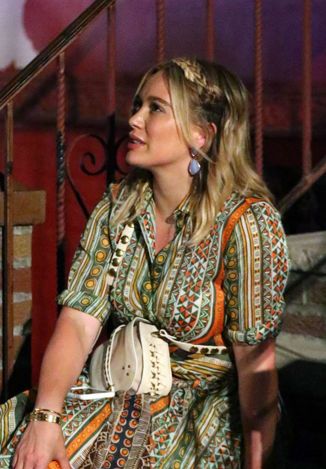 Hilary Duff: On the Set of Younger -22