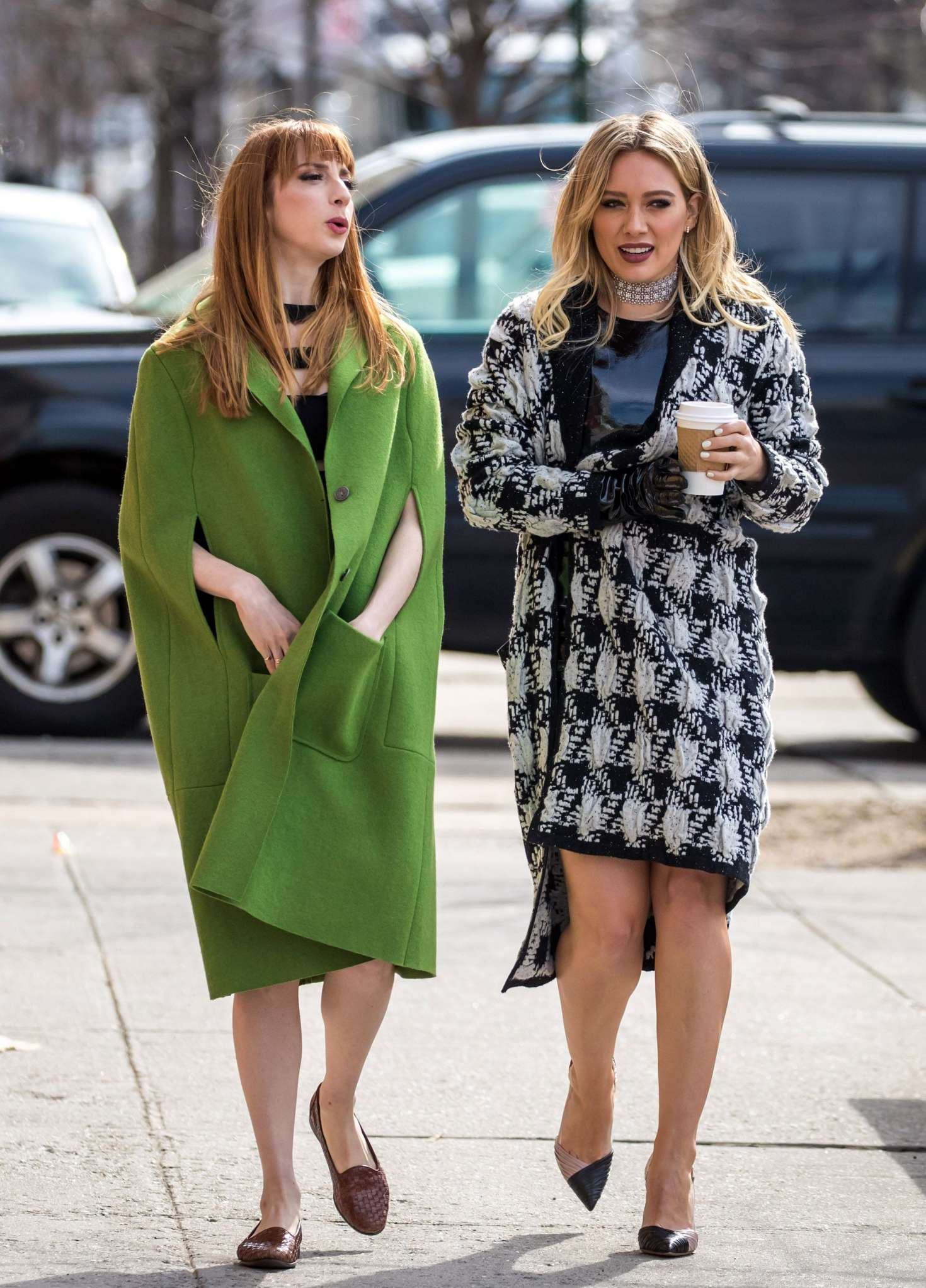 Hilary Duff 2015 : Hilary Duff on the set of Younger -07