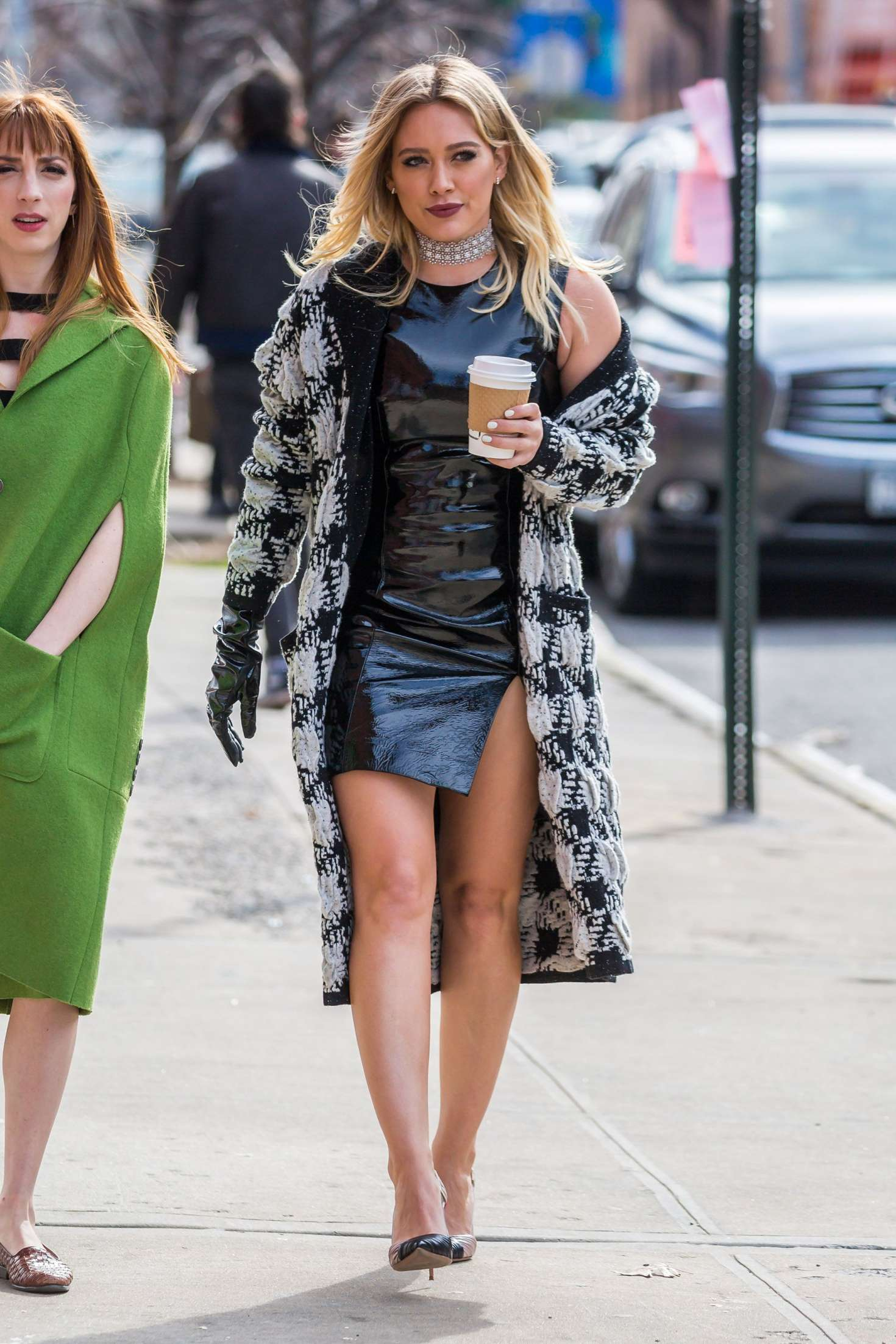 Hilary Duff 2015 : Hilary Duff on the set of Younger -14
