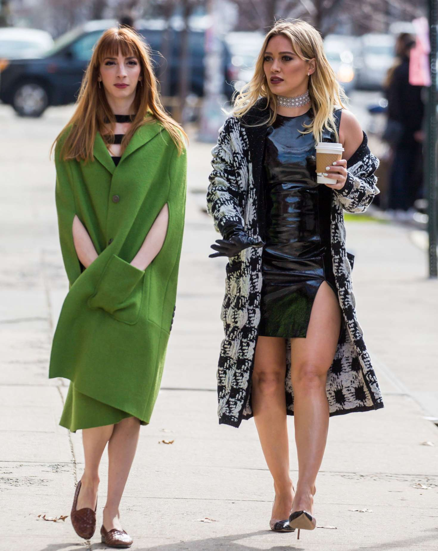 Hilary Duff 2015 : Hilary Duff on the set of Younger -20